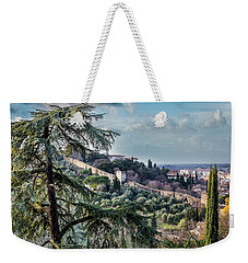 Ancient Walls Of Florence Weekender Tote Bag