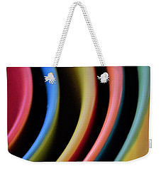 And A Dash Of Color Weekender Tote Bag by John Glass