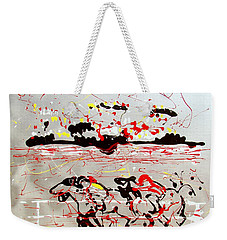 And Down The Stretch They Come Weekender Tote Bag