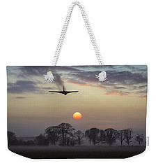 And Finally Weekender Tote Bag by Gary Eason