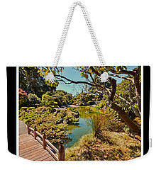 And So In This Moment With Sunlight Above Weekender Tote Bag