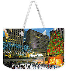 And So This Is Christmas Weekender Tote Bag