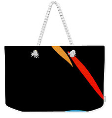 Weekender Tote Bag featuring the painting And The Day Will Come by Bill OConnor