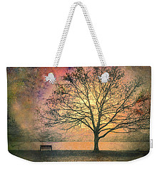 And The Morning Is Perfect In All Her Measured Wrinkles Weekender Tote Bag by Tara Turner