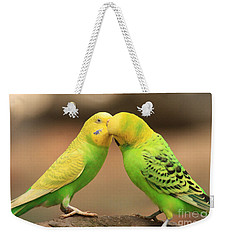 And Then He Kissed Me Weekender Tote Bag by Kim Henderson