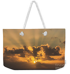 And Then There Was Day Five Weekender Tote Bag by Roberta Byram