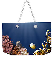 And Then There Was Light Weekender Tote Bag