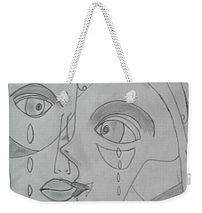 And Then They Parted Weekender Tote Bag