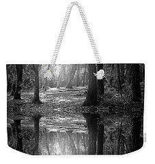 And There Is Light In This Dark Forest Weekender Tote Bag