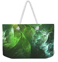 Weekender Tote Bag featuring the digital art Andee Design Abstract 72 2017 by Andee Design