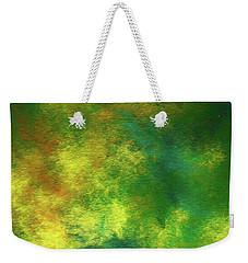 Weekender Tote Bag featuring the digital art Andee Design Abstract 78 2017 by Andee Design