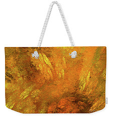 Weekender Tote Bag featuring the digital art Andee Design Abstract 79 2017 by Andee Design
