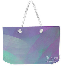 Weekender Tote Bag featuring the digital art Andee Design Abstract 85 2017 by Andee Design