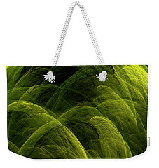 Weekender Tote Bag featuring the digital art Andee Design Abstract 90 2017 by Andee Design