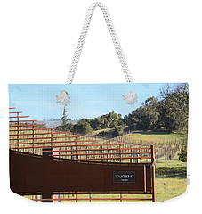 Anderson Valley Vineyard Weekender Tote Bag