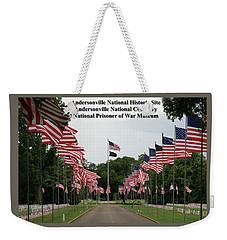 Andersonville National Park Weekender Tote Bag by Jerry Battle