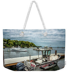 Weekender Tote Bag featuring the digital art Andre by Daniel Hebard