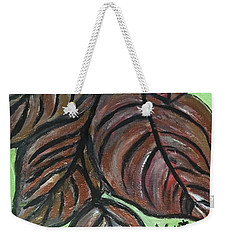 Andrea's Leaves - Fragments Of A  Dream Weekender Tote Bag