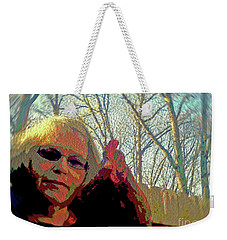 Andy And Me Weekender Tote Bag by Donna Brown