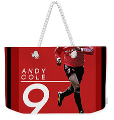 Andy Cole Weekender Tote Bag