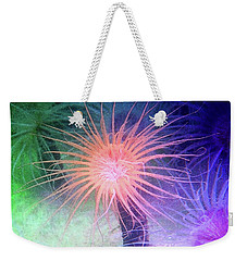 Weekender Tote Bag featuring the photograph Anemone Color by Anthony Jones