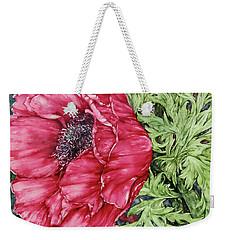 Anemone Weekender Tote Bag by Kim Tran