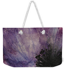 Weekender Tote Bag featuring the painting Anemone by Marna Edwards Flavell