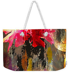 Anemone Monday Weekender Tote Bag by Jolanta Anna Karolska