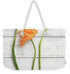 Weekender Tote Bag featuring the photograph Anemone Pods by Rebecca Cozart