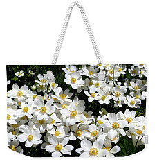 Weekender Tote Bag featuring the photograph Anemone Profusion by Will Borden