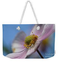 Anemone Tomentosa Close Up Weekender Tote Bag