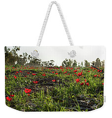 Anemones Forest Weekender Tote Bag by Yoel Koskas