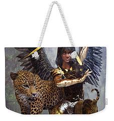 Angel 3 Weekender Tote Bag