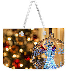 Weekender Tote Bag featuring the photograph Angel Aglow by Bill Kesler