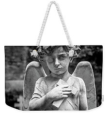 Angel And Cross Weekender Tote Bag