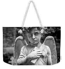 Angel And Cross Weekender Tote Bag