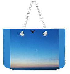 Angel Bird Weekender Tote Bag