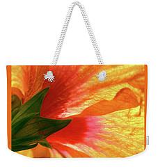 Angel Brushstrokes  Weekender Tote Bag by Marie Hicks