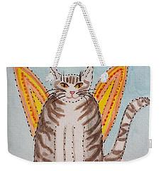 Angel Cat Weekender Tote Bag