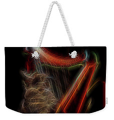 Angel Cat Weekender Tote Bag