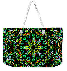 Angel Chaos Abstract Weekender Tote Bag by Aliceann Carlton