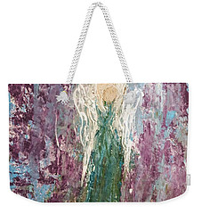 Angel Draped In Hydrangeas Weekender Tote Bag