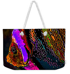 Angel Face 2 Weekender Tote Bag