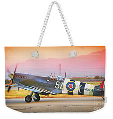 Angel Flying Too Close To The Ground Weekender Tote Bag