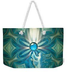 Angel Globe Weekender Tote Bag