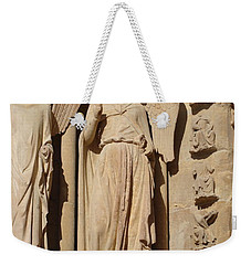 Angel In Reims Weekender Tote Bag