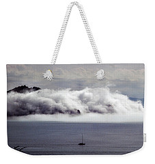 Angel Island Fog Weekender Tote Bag