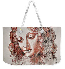 Angel Madonna Weekender Tote Bag