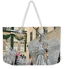 Angel New York City Weekender Tote Bag