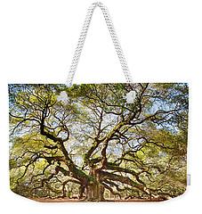 Angel Oak In Spring Weekender Tote Bag